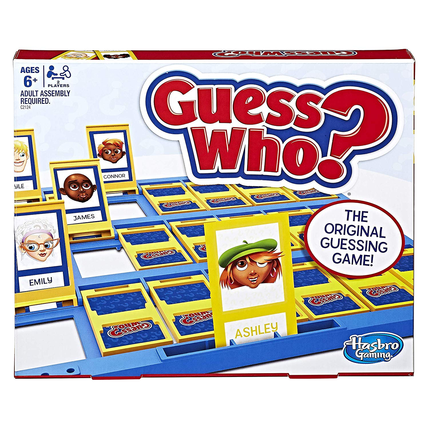 Guess Who? board game box image