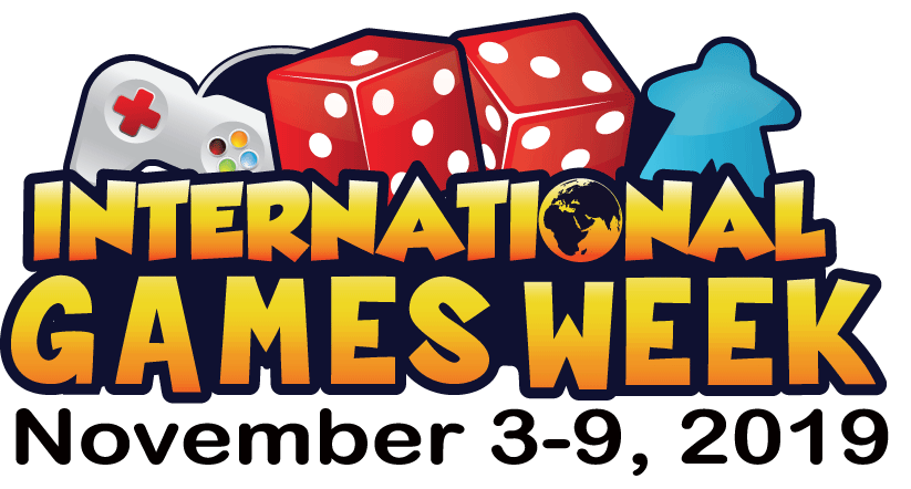 International Games Week: Novermber 3-9, 2019