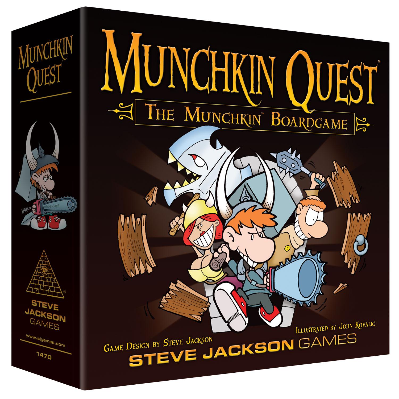 Munchkin Quest game box