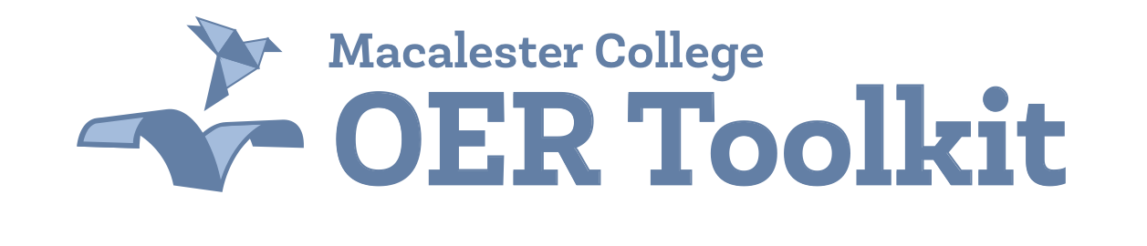 Macalester College OER Toolkit