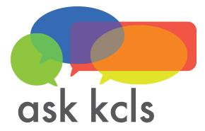 ask kcls logo