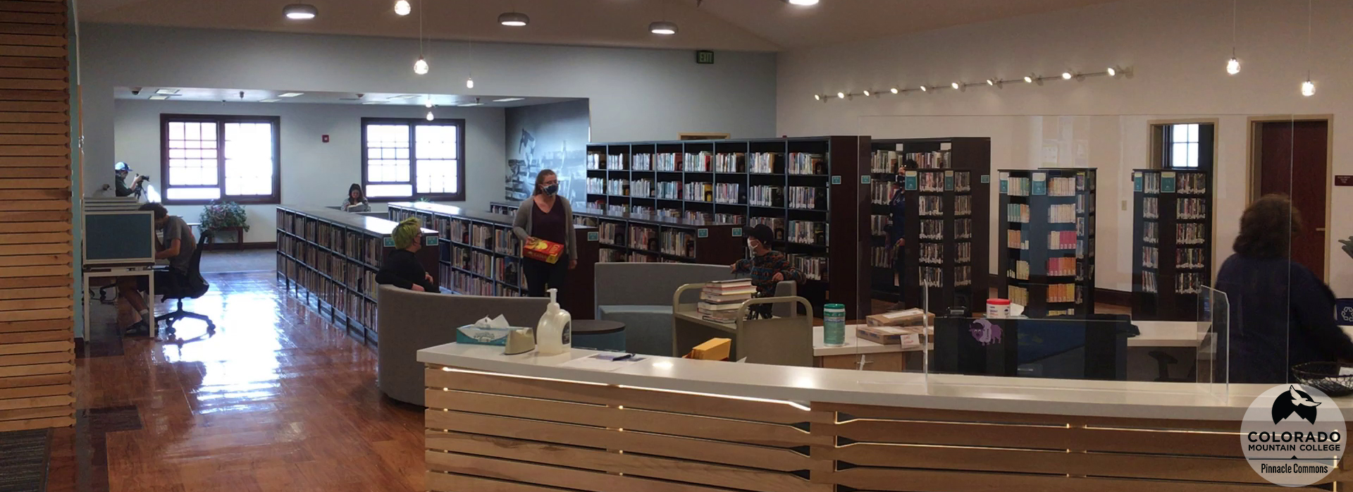 View of the Leadville Learning Commons.