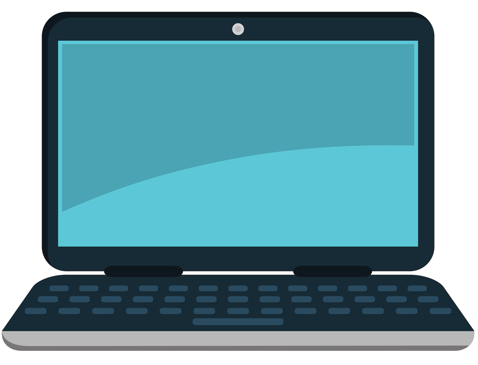 a graphic of a laptop