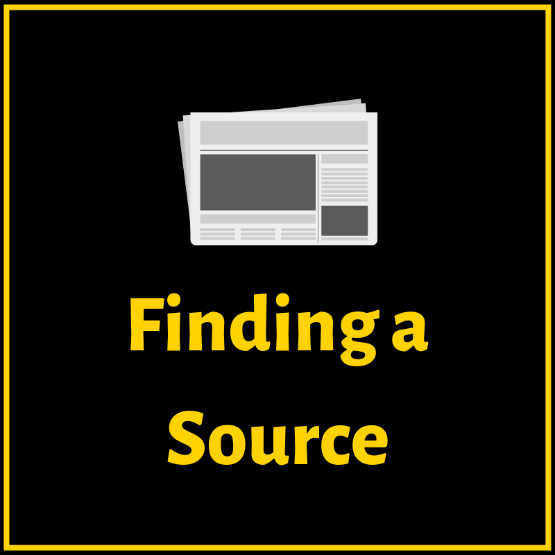 Finding a Source