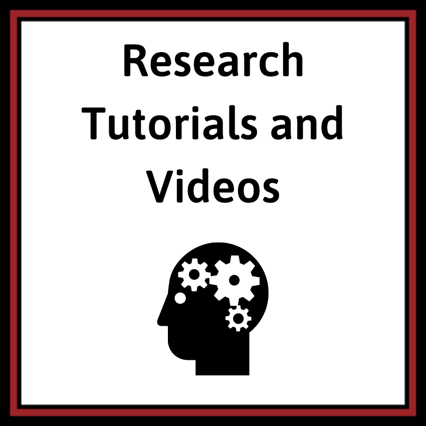 Research Tutorials and Videos