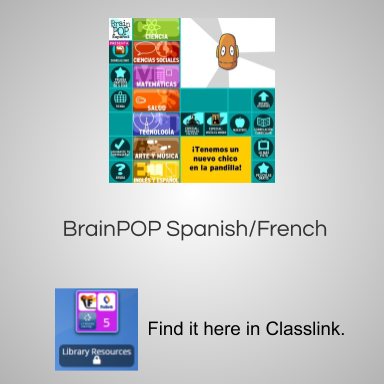 Brainpop Spanish/French
