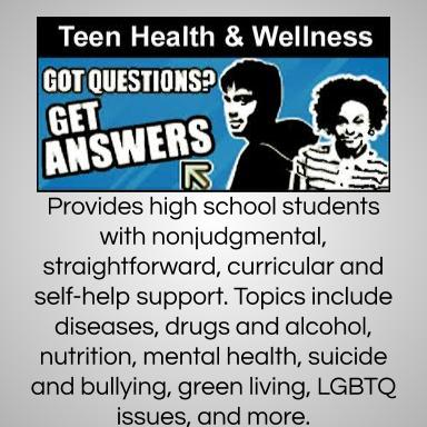 Teen Health and Wellness Database