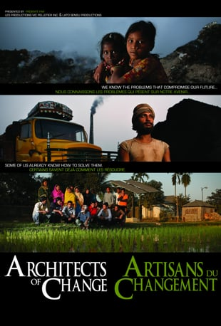 cover for architects of change