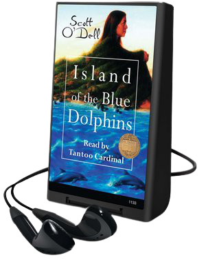 Island of the Blue Dolphins playaway cover