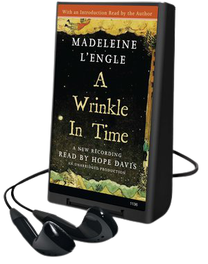 A Wrinkle in Time playaway cover