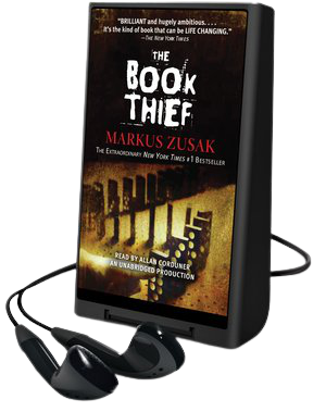 The Book Thief playaway cover