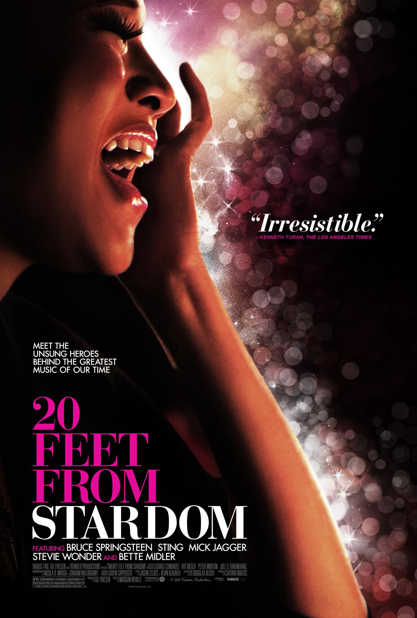 20 Feet From Stardom film cover art