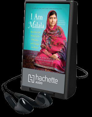 I am Malala playaway cover