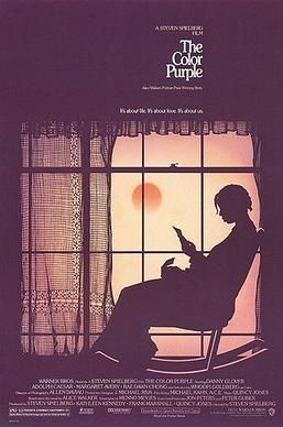 The Color Purple film cover art