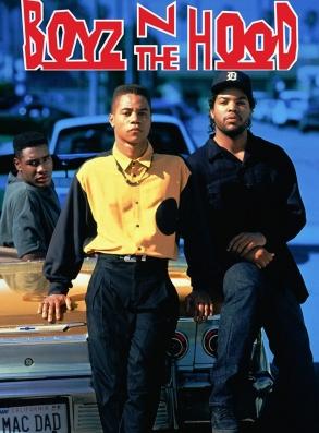 Boyz N The Hood film cover art