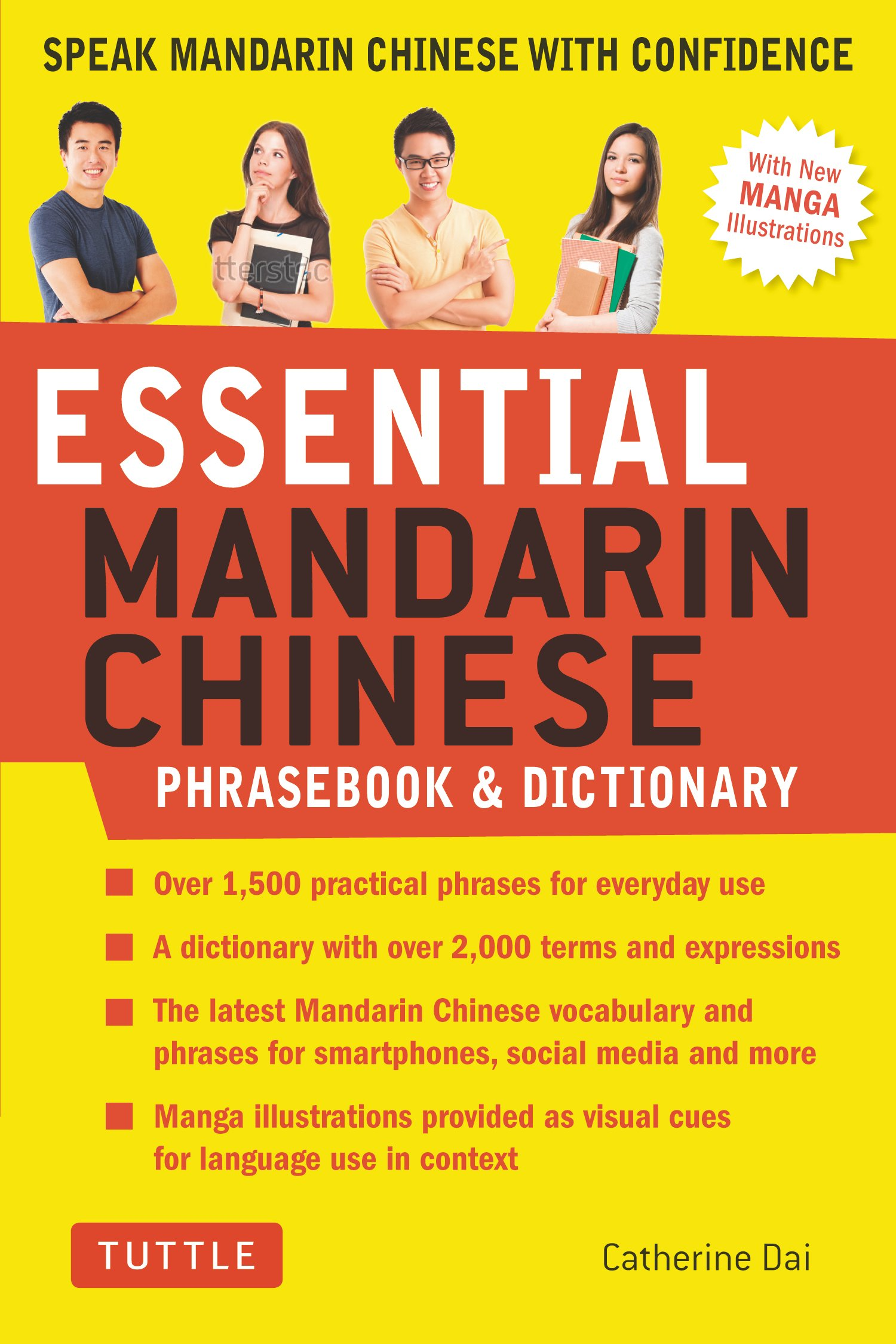 Essential Mandarin Chinese Phrasebook & Dictionary : Speak Chinese with Confidence!
