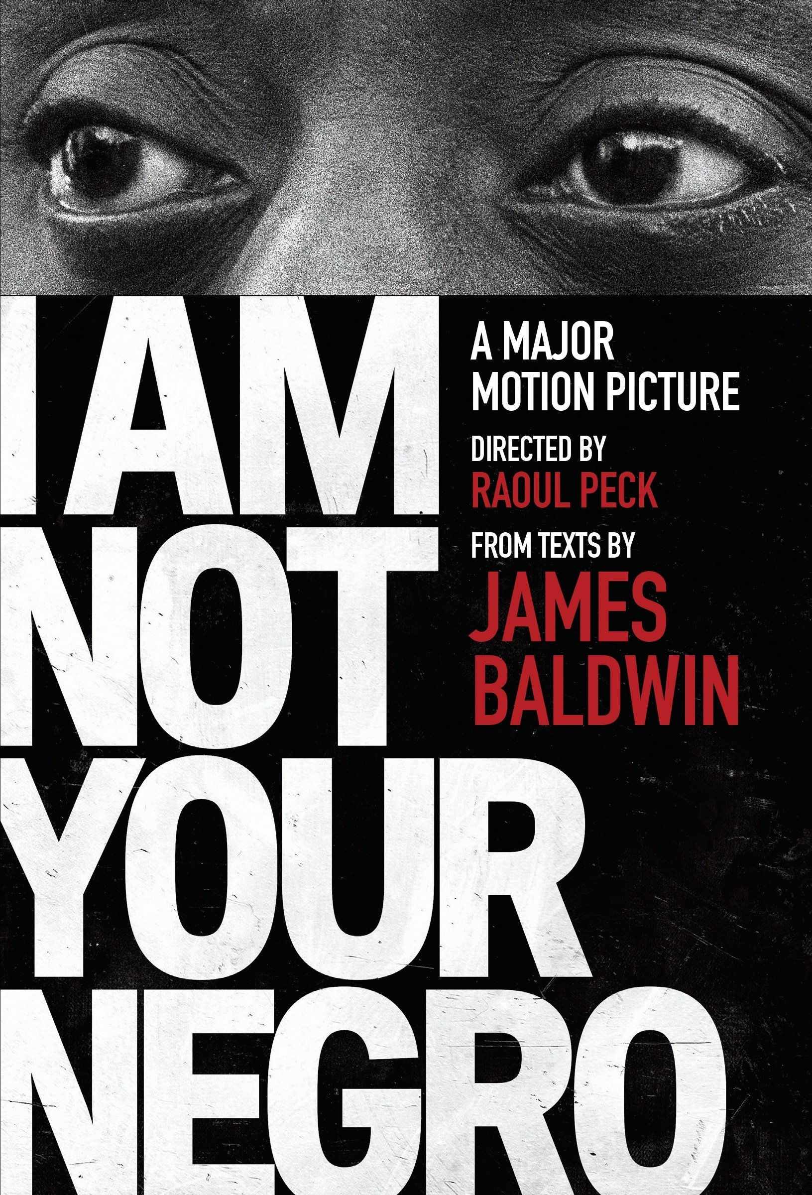 I am not your negro film cover art
