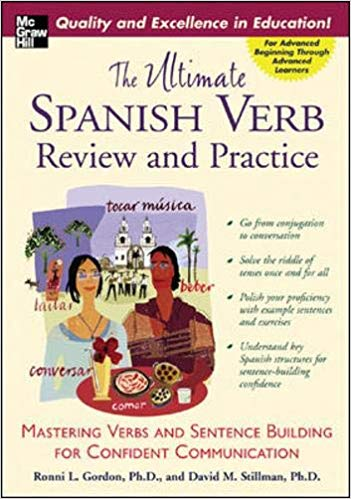 Spanish Verb and Sentence Building Book