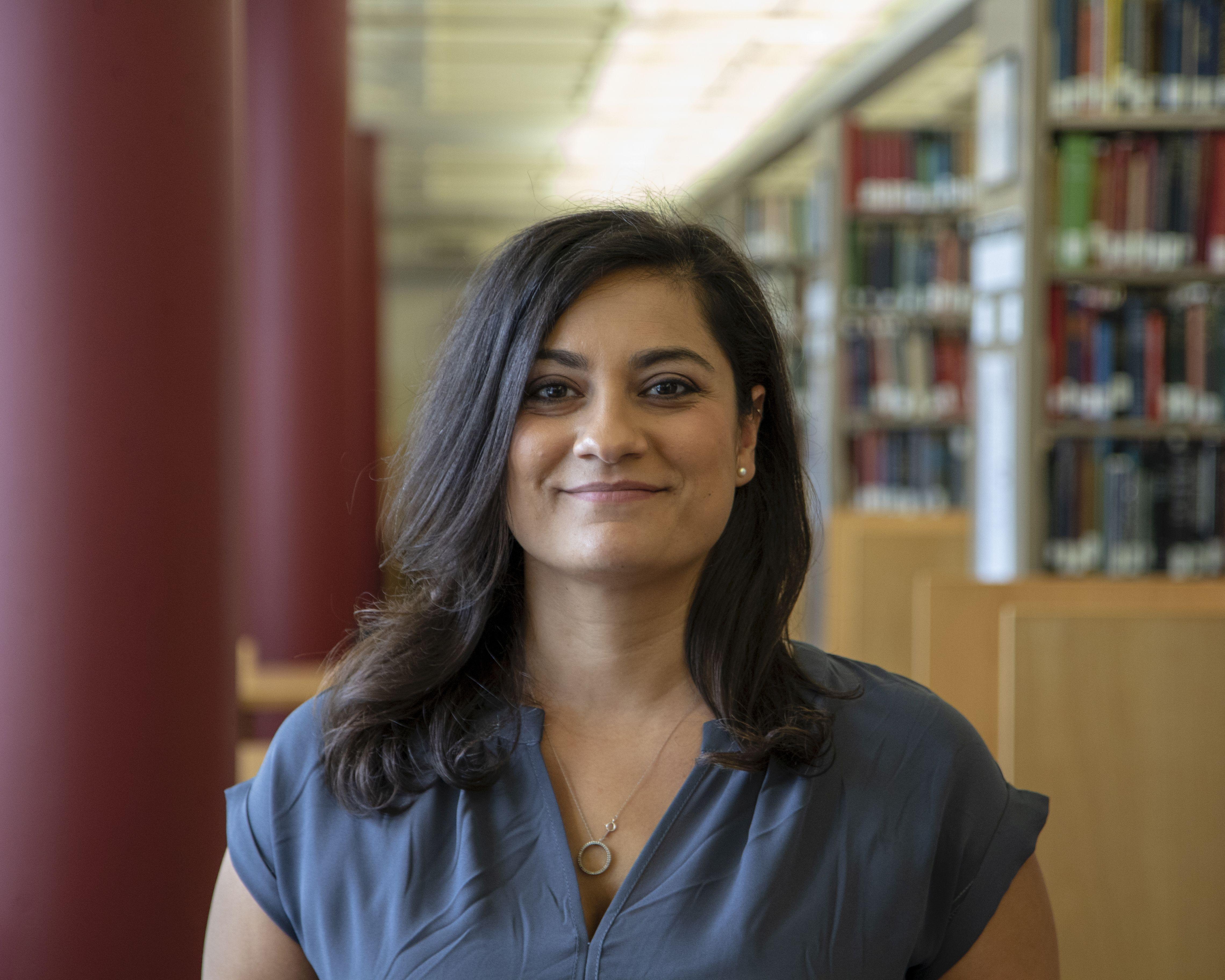 Image of UMN Music Librarian Jessica Abbazio