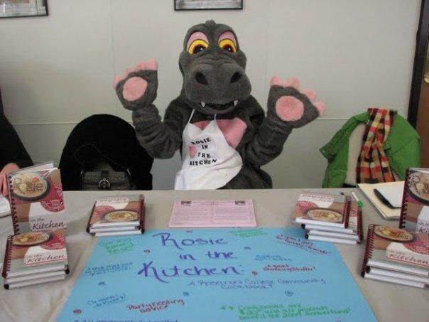 Rosie the Rosemonster Mascot, 2000s