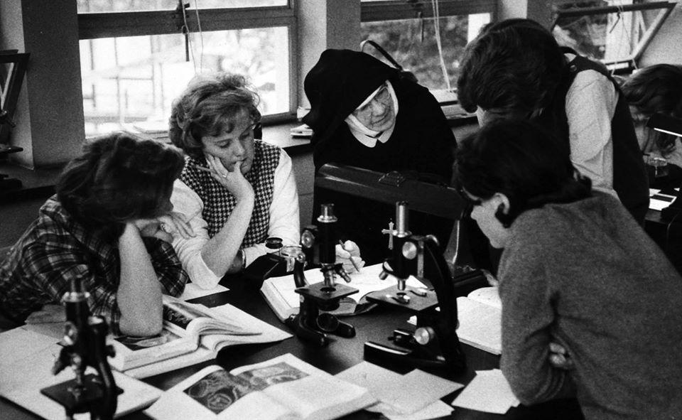Science Class, 1964