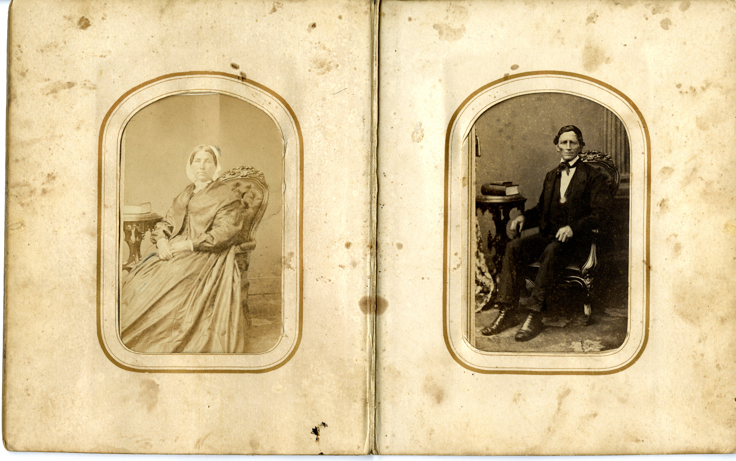 Sinnott Album-found in MainBldg, 1860s