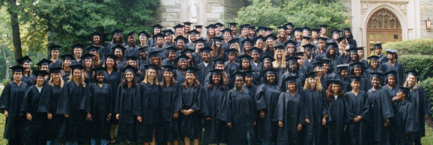 Class of 2008 at Freshman Convocation, 2003