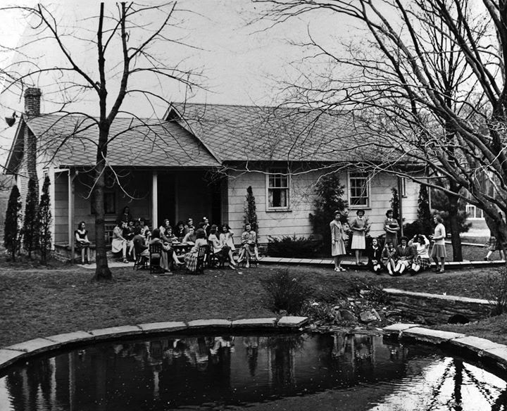 The T-House in the 1940s