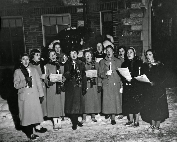 Carolers on Campus, 1957
