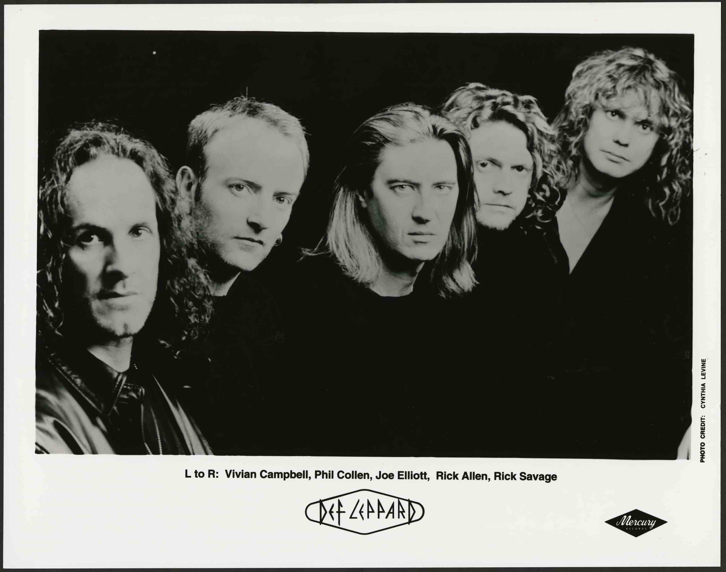 Def Leppard promo photo