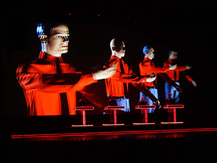 kraftwerk performance photograph