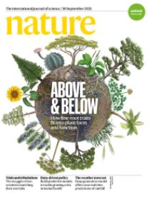 Nature journal cover image