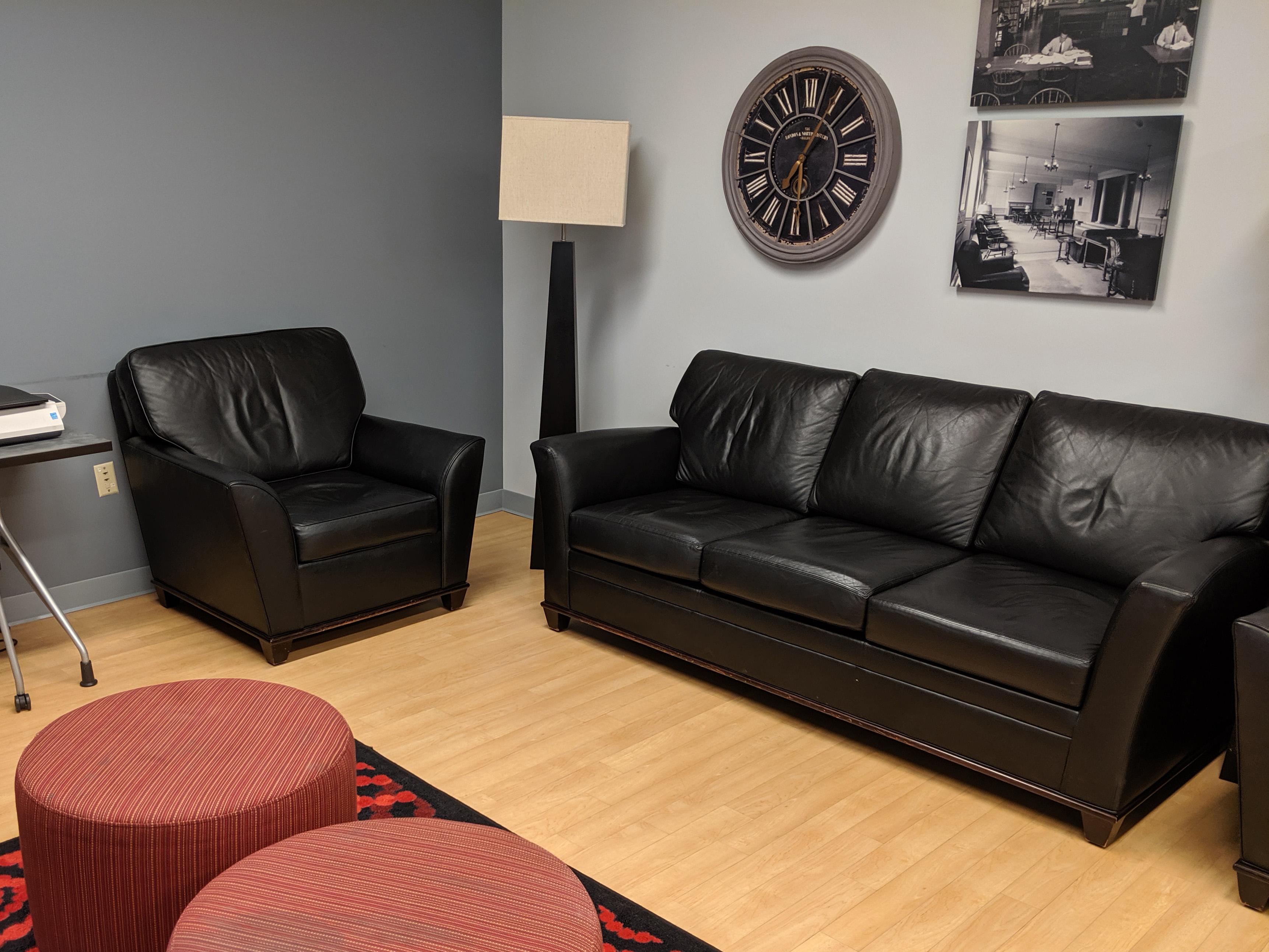 Lounge corner of myLab