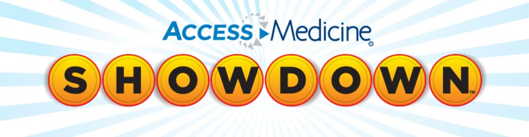 Access Medicine logo for showdown game