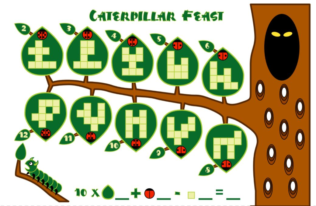 Catepillar Feast Worksheet