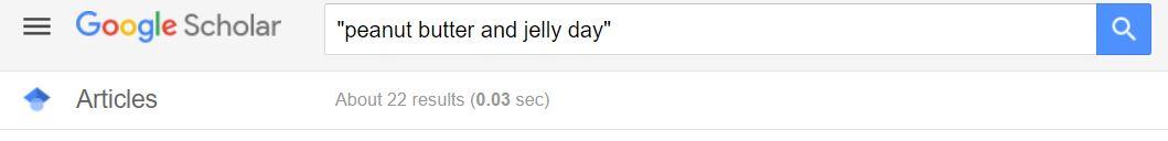 peanut butter google 2