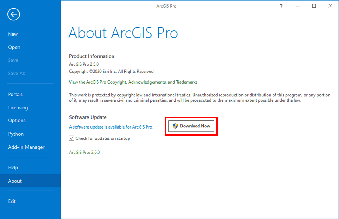 ArcGIS Update Download