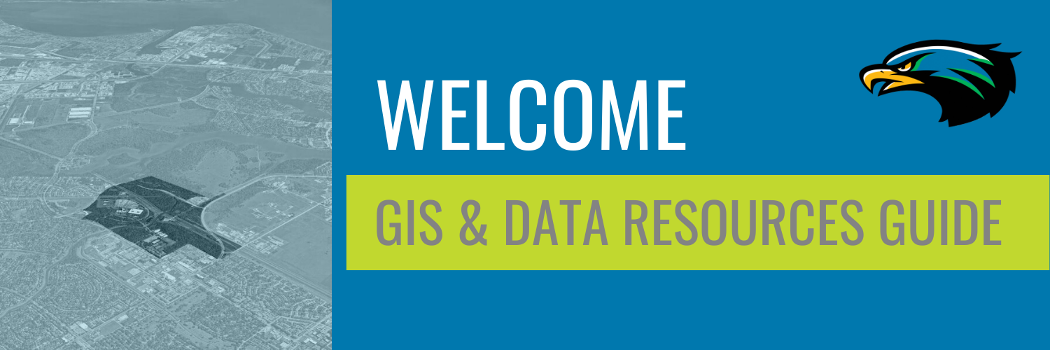 UHCL GIS & Data Resources Header