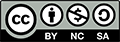 Creative Commons Attribution Non Commercial Share Alike button