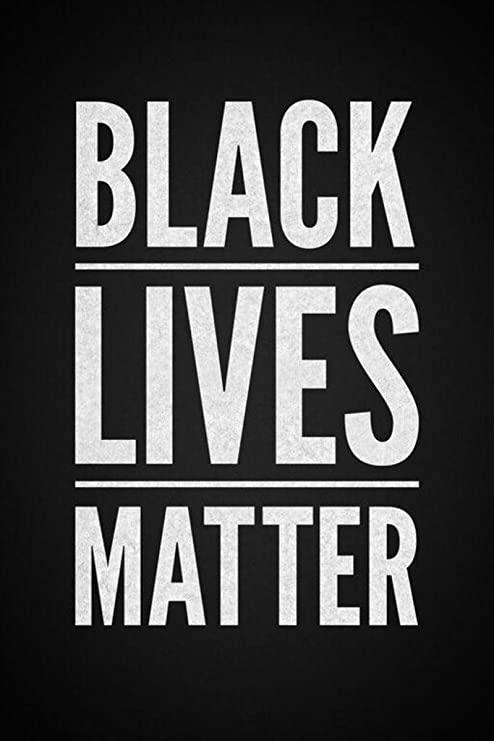 black lives matters poster