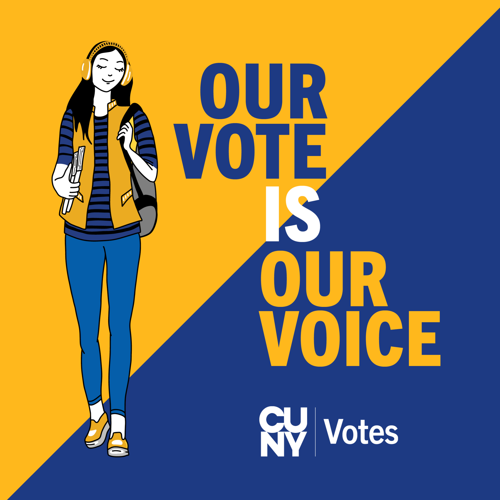 CUNY voting logo
