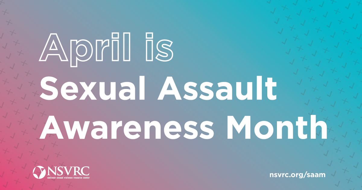 april is sexual assault awareness month graphic