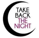 crescent moon shaped logo for take back the night