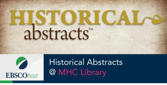 Historical Abstracts database