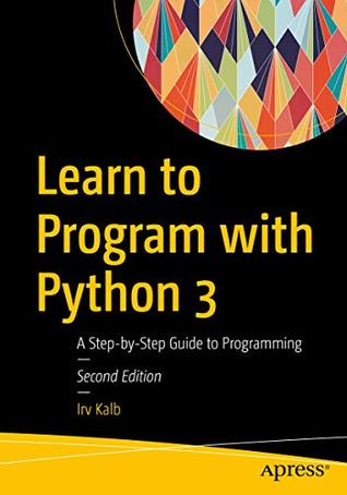 Learn to Program with Python 3 book jacket