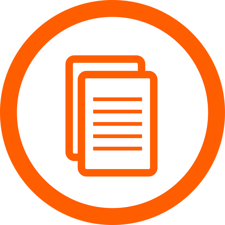 orange document icon