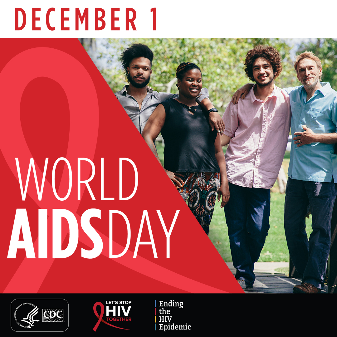 World AIDS Day is December 1st