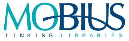 Logo for Mobius which reads MOBIUS linking libraries