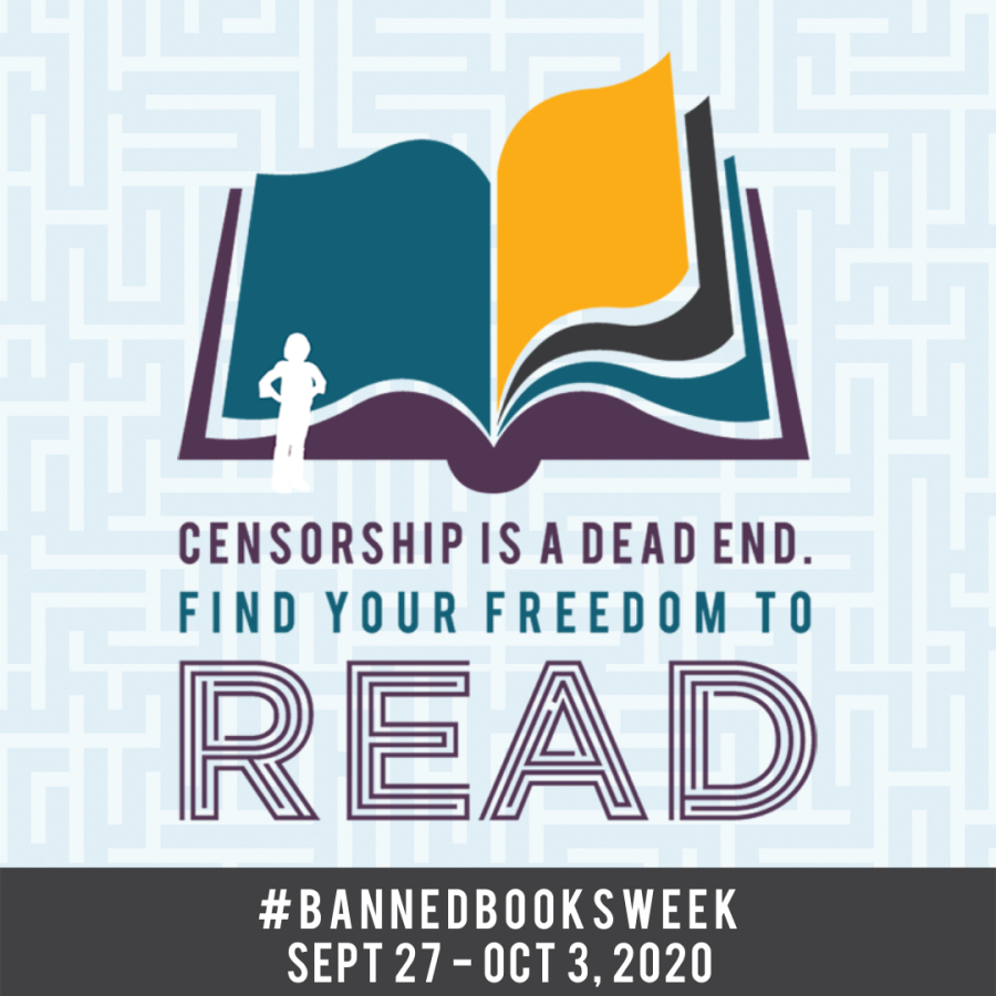 Censorship is a dead end. Find your freedom to read. Banned Books Week September 27-October 3, 2020.