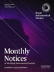 Image of Journal Cover. Monthly Notices of the Royal Astronomical Society